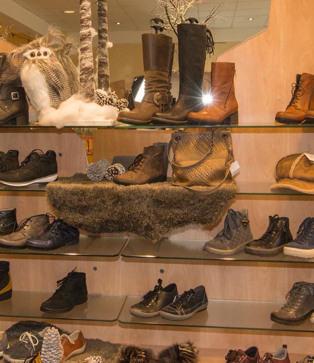 Schuhverkauf